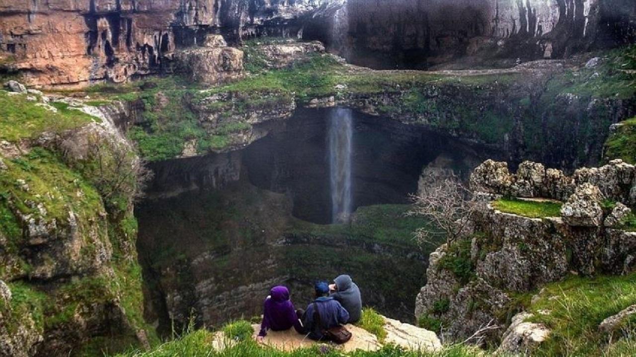 باتارا؛ غاری تماشایی در لبنان + تصاویر