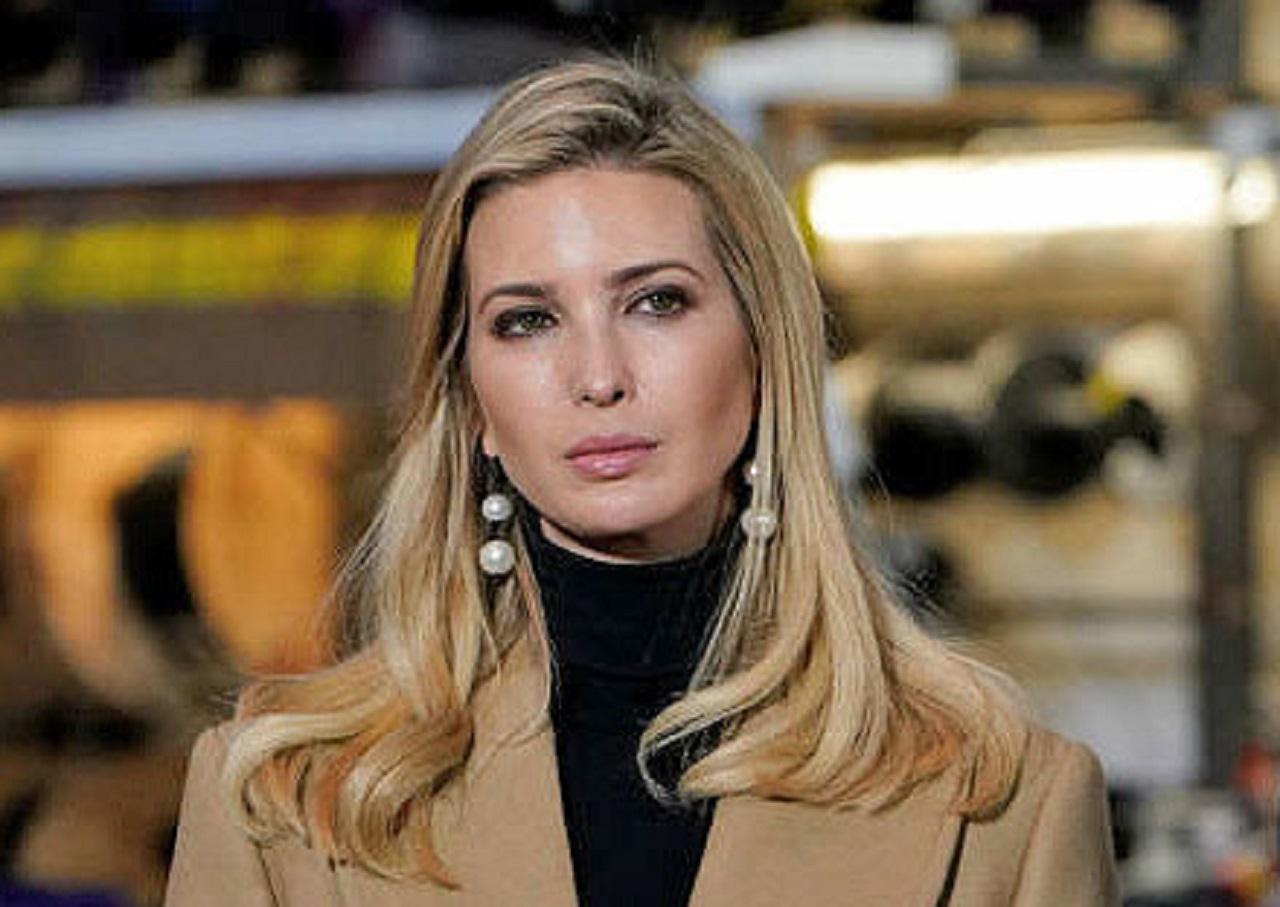 دختر دونالد ترامپ در قرنطینه خانگی