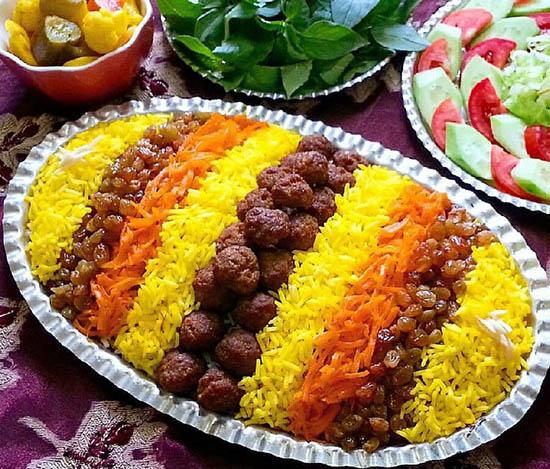 ساطری پلو؛ غذای محلی خراسان//دپوی