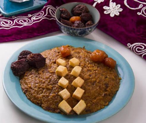 یخمه تُرُش؛ غذای مقوی اصفهانیها//دپوی