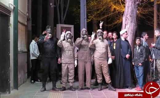 بسیجیان پایگاه ابوذر صفائیه پا به میدان گذاشتن/ محلات صفائیه یزد ضدعفونی شد