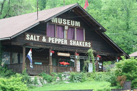 معرفی نمک پاش و جای فلفل در یک موزه آمریکایی