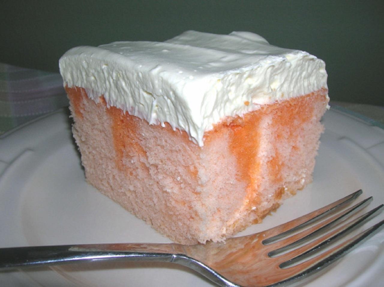 طرز تهیه کیک پرتقالی ژلهای