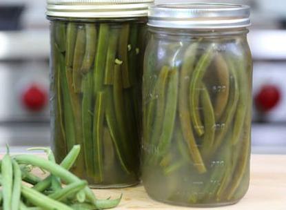 چگونه ترشی لوبیا سبز درست کنیم؟