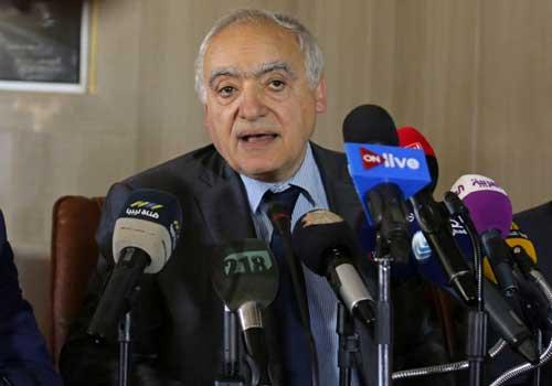 غسان سلامه، نماینده ویژه سازمان ملل در امور لیبی
