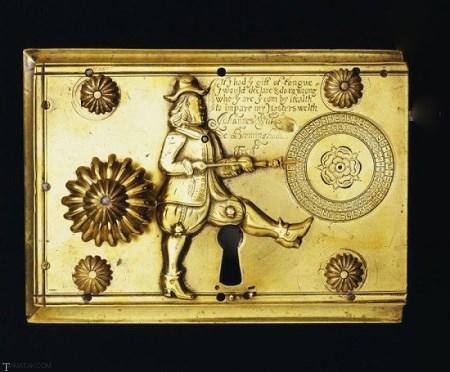 قفل جالب قدیمی که ۳۳۰ سال پیش ساخته شده! + تصاویر
