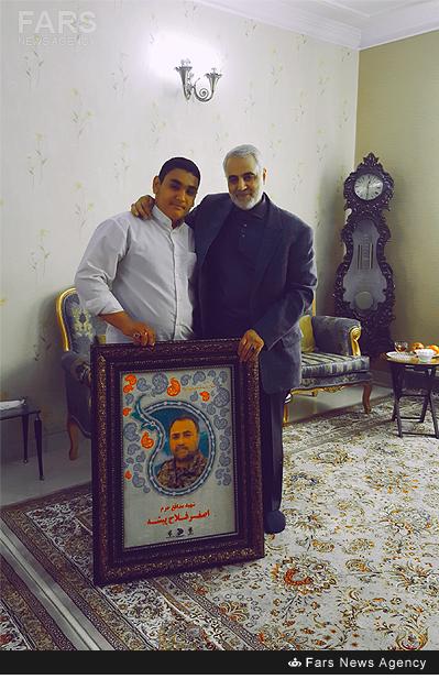 مهمان ویژه عید نوروز در خانه شهید مدافع حرم+عکس