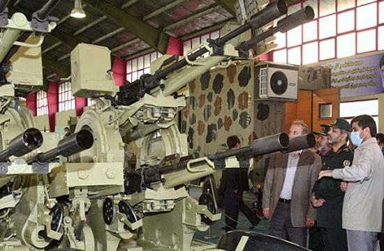 توپ ضدهوایی مصباح ۱؛ شکارچی موشکهای دشمن