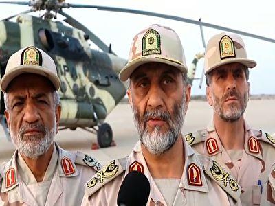 توضیحات فرمانده مرزانی کشور درباره شهادت دو مرزبان به دست تروریستها در منطقه جکیگور + فیلم