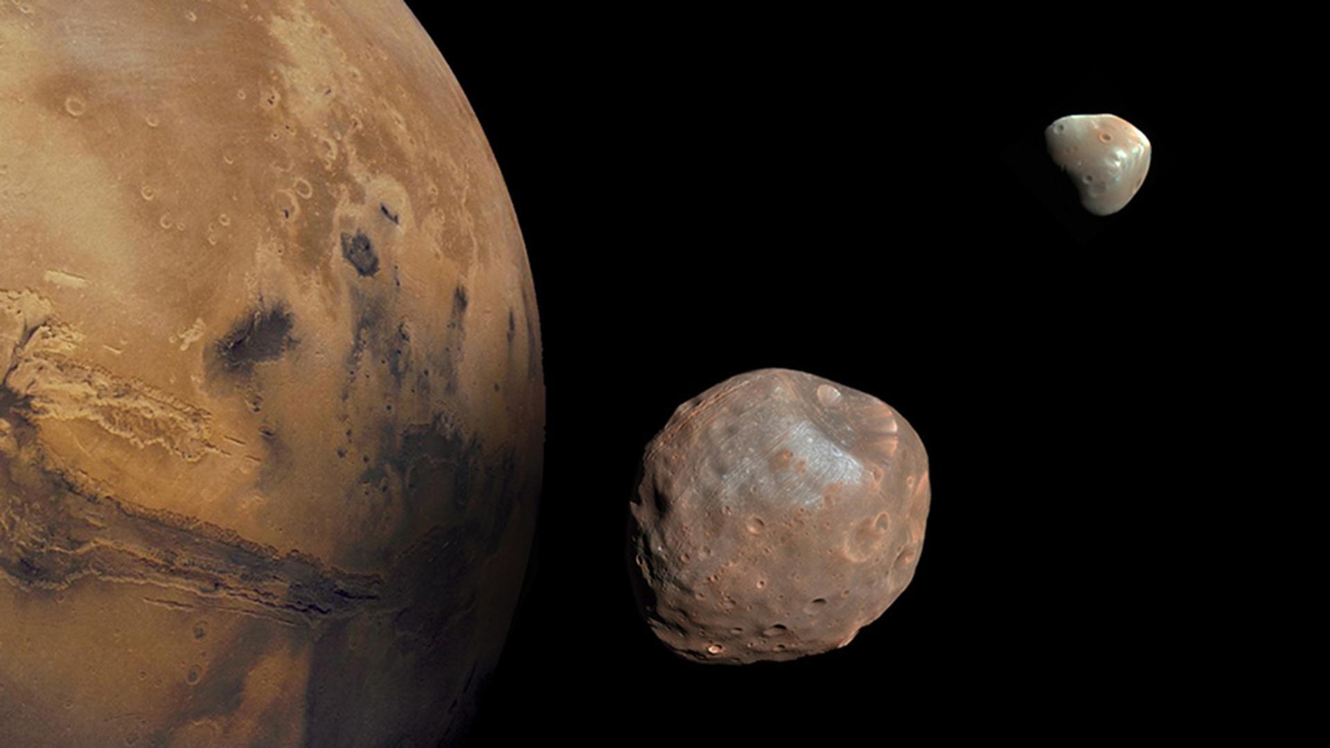 تلاش ژاپن برای فرود بر روی قمر مریخ