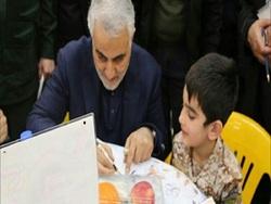 ماجرای فرزند شهیدی که هدیه سردار سلیمانی را پس داد + تصاویر