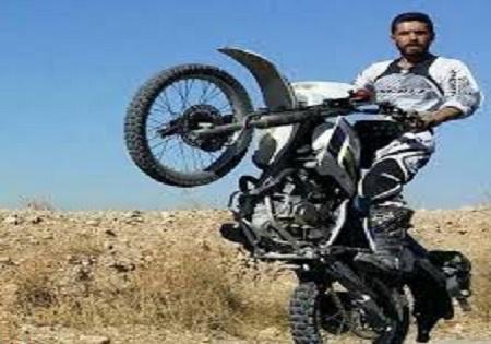 قهرمان موتورکراس که شهادت را به سکوی قهرمانی ترجیح داد