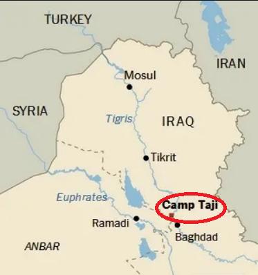 //شمارش معکوس برای خروج نظامیان تروریست آمریکا از عراق/ ۱۴پایگاهی که باید ترک شوند