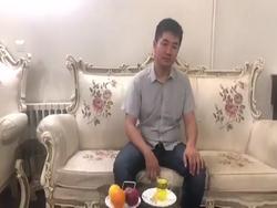 پیام فارسی بازرگان چینی پس از اهدای ۵۰ هزار ماسک به ایران + فیلم