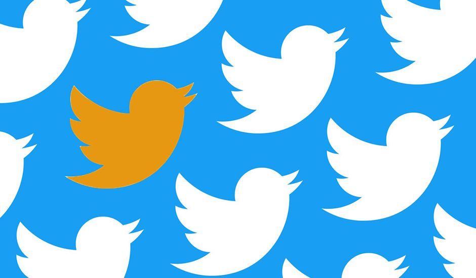 بر چسب نارنجی و قرمز، سهم منتشرکنندگان اخبار دروغ در توئیتر