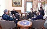 باشگاه خبرنگاران - کرزی و سیاف به دیدار اشرف غنی و عبدالله رفتند
