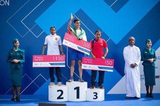 قهرمانی دونده کشورمان در مسابقات عمان