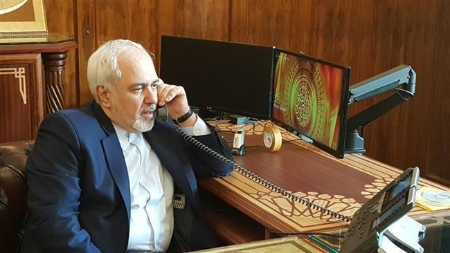 گفتگوی تلفنی وزرای خارجه ایران و ترکیه