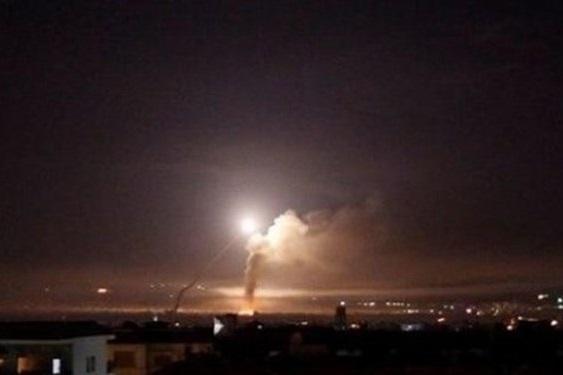 حمله موشکی در سوریه