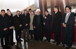 آزادراه تهران-شمال با حضور رئیس جمهور افتتاح شد
