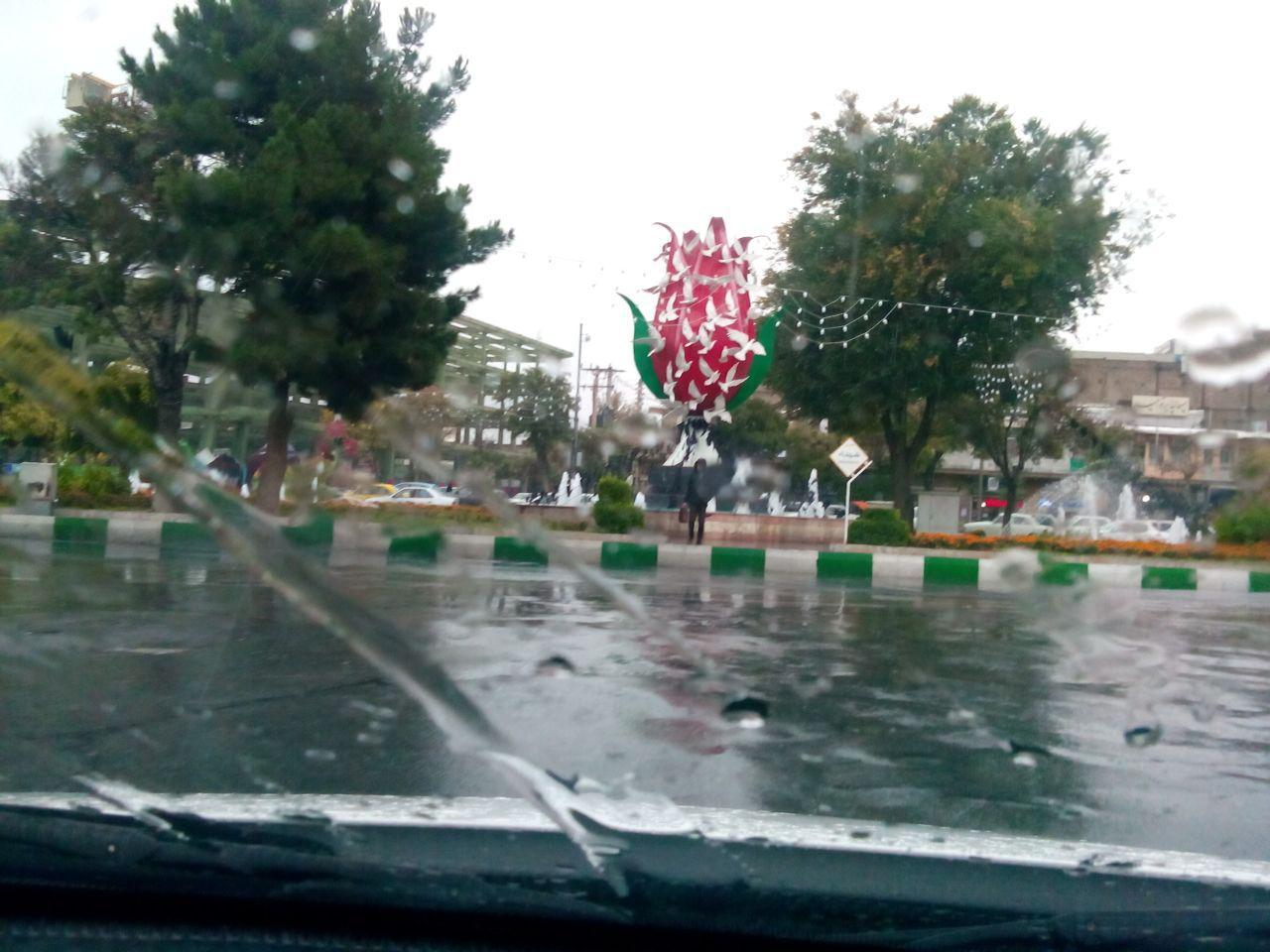 افزایش ۱۰ درصدی بارندگی در استان مرکزی