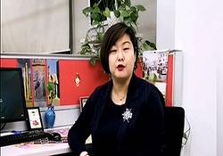 پیام فارسی زن چینی برای مقابله با کرونا + فیلم