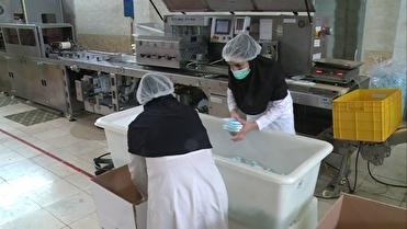 شیفت ایثار یک شرکت تولیدی محصولات بهداشتی برای مقابله با کرونا