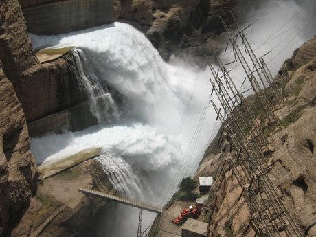 تخلیه روزانه ۳ میلیون متر مکعب از آب سد کمال صالح