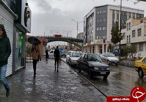 بارش باران به روایت تصویر