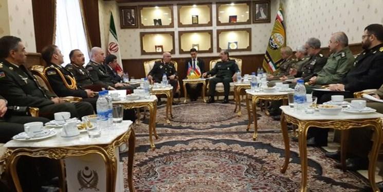 دومین کمیسیون مشترک نظامی ایران و جمهوری آذربایجان برگزار شد