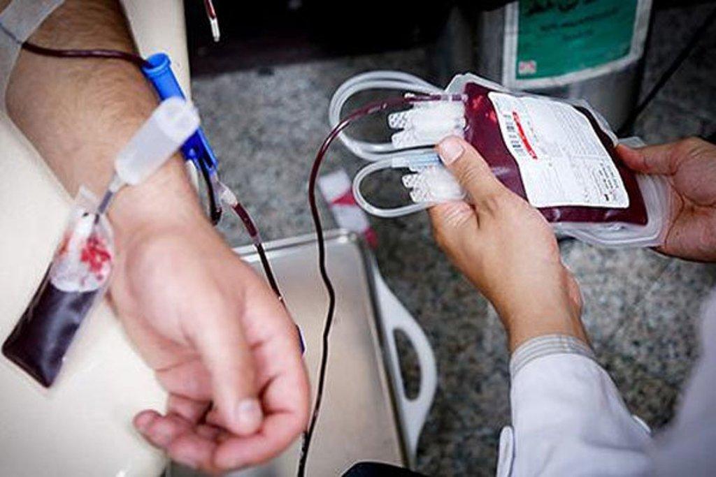 اهدای بیش از ۳۲ هزار واحد خون گیری در انتقال خون استان همدان