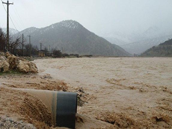 آخرین جزییات احتمالی سیل در چهارمحال و بختیاری/ رودخانه بازفت طغیان کرد