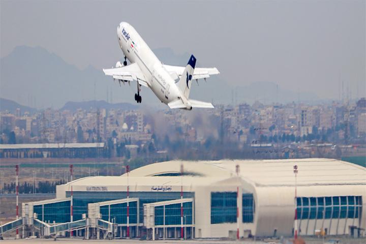 لغو پروازهای تفلیس گرجستان و سلیمانیه (کردستان عراق) و بغداد و نجف و استانبول