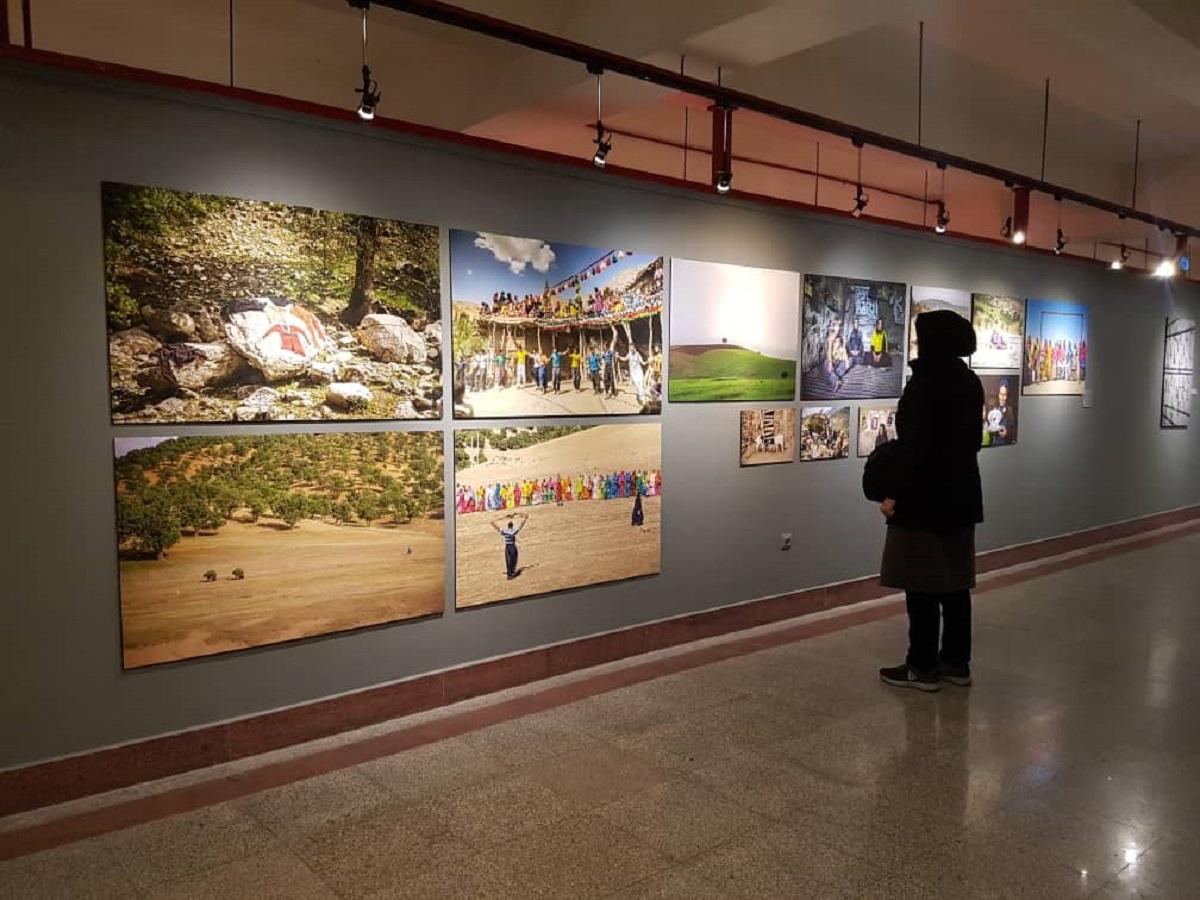 نمایش اثر هنرمند چهارمحالی در بخش چارخونه جشنواره تجسمی فجر