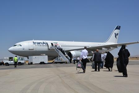 لغو پروازهای فرودگاه همدان از جمعه این هفته