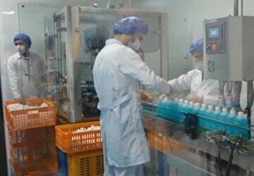 راه اندازی ۲ شرکت تولید ماسک و موادضدعفونی در ساوه با کمک بسیج