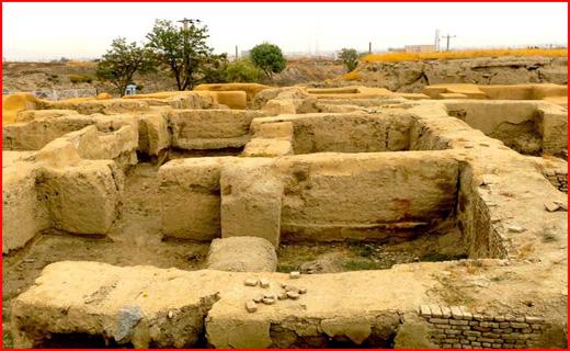 سفری به تپه باستانی هگمتانه در ایام نوروز + تصاویر