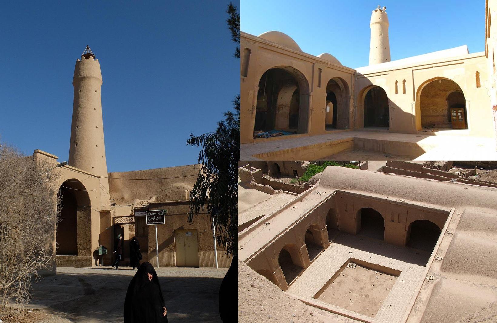 قلعهای که یکی از شاهکارهای کویر ایران است
