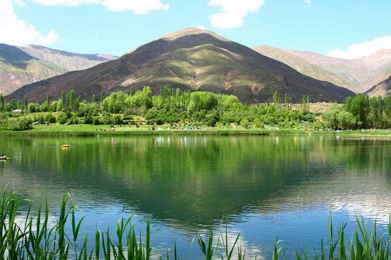 دریاچه اوان یکی از جاهای دیدنی استان قزوین