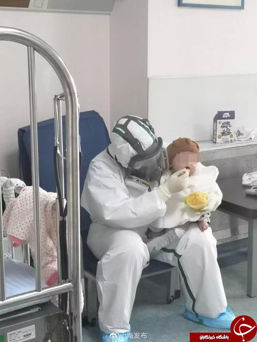 بهبود حال کودک 7 ماهه مبتلا به کرونا