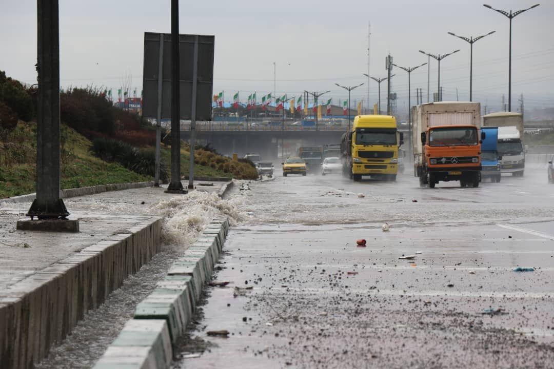 توصیه پلیس راهور به رانندگان در شرایط بارانی