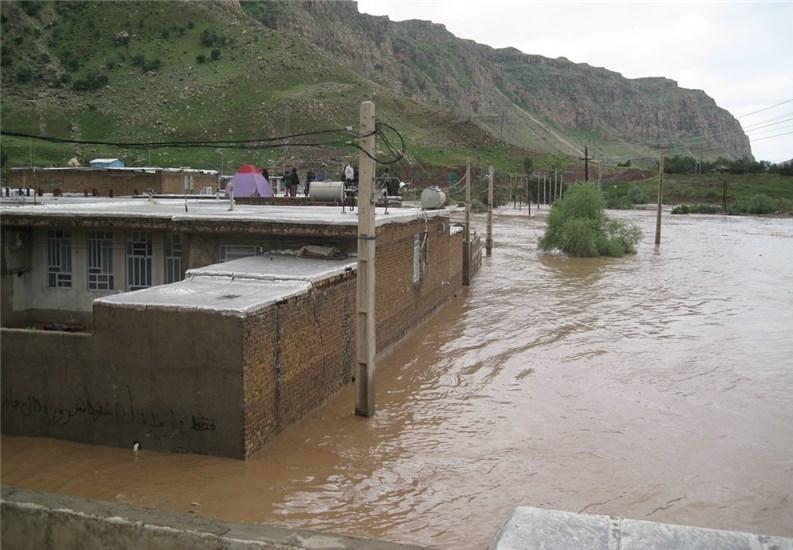 خسارت به زیر ساختهای شهرستان دره شهر در سیل اخیر