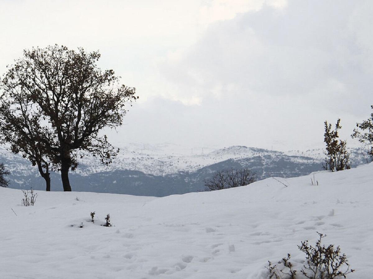 کوهرنگ سردترین نقطه چهارمحال و بختیاری بود