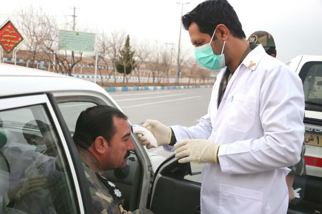 پیشگیری از انتقال ویروس کرونا در پادگانهای نزاجا