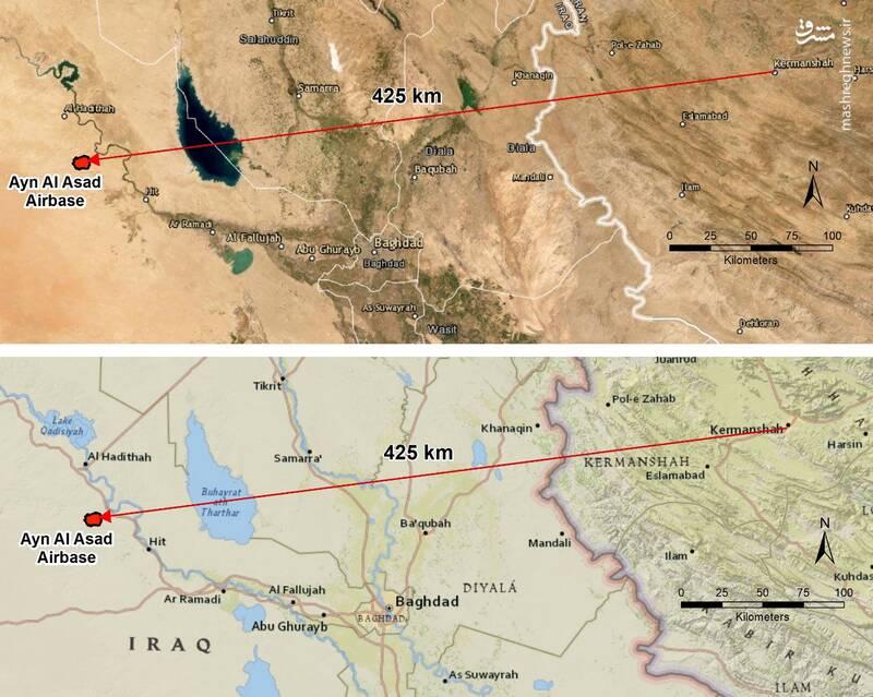 اعتراف کارشناسان موشکی غرب بر موفقیت ایران در حمله به عین الاسد / موشکهای ایرانی با چه دقتی به اهداف خود اصابت کردند؟