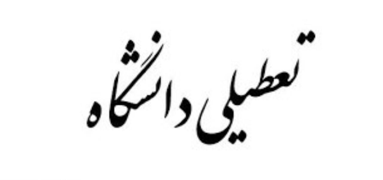 دانشگاههای سراسر استان کرمان تعطیل شد