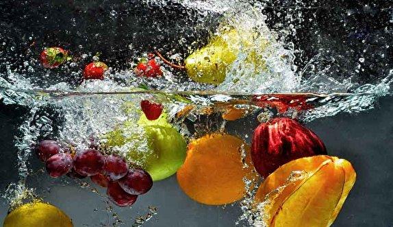 میوه هارا چگونه ضدعفونی کنیم؟