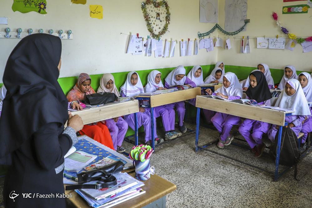 کلاسهای آموزشی دانشآموزان