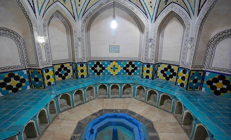 مرمت حمام های تاریخی ثبت شده در فهرست آثار ملی در استان مرکزی