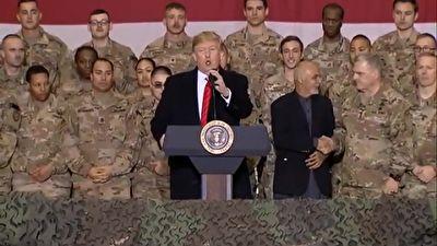 اشتیاق ترامپ به امضای توافقنامه صلح با طالبان + فیلم